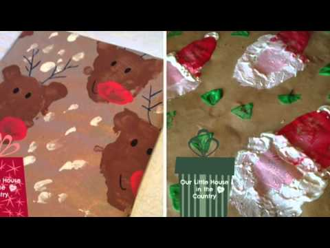10 Homemade wrapping paper crafts that will make your gifts look FABULOUS!