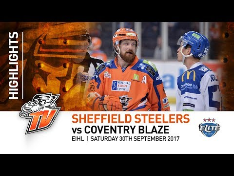 Sheffield Steelers v Coventry Blaze - EIHL - 30th September 2017