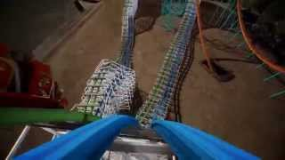 "Six Flags Twisted Colossus POV Promo ""Full HD"" On-Ride Magic Mountain Roller Coaster New For 2015!"