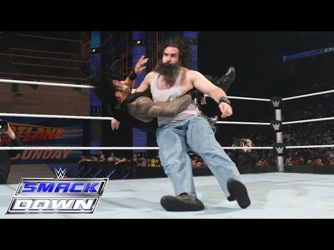 Roman Reigns vs. Luke Harper: SmackDown, February 19, 2015