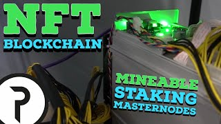 Pastel.Network is building a MINEABLE NFT platform with STAKING and MASTERNODES!