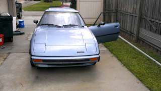 1980 Mazda RX-7 Cold Startup