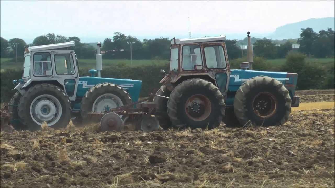 Big Ford Tractors : Big equal wheel ford tractors fingal show youtube