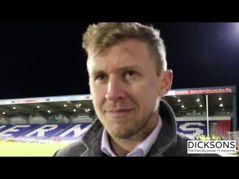 CaleyJagsTV : Richie Foran Match Reaction v Rangers FC : 24/02/17