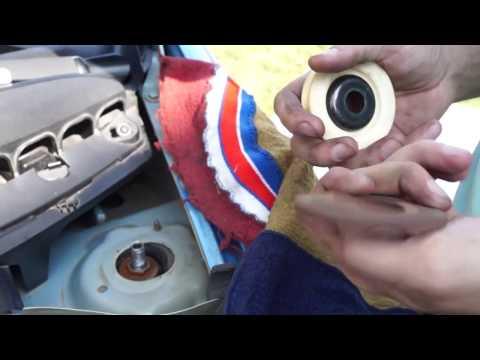 Citroen C3 - Как убрать стук передних стоек на отбой