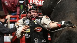 WRECK: Chase Outlaw gets roughed up by Sinful Nature (PBR)