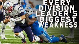 Every Division Leader's Biggest Weakness   Move the Sticks   NFL