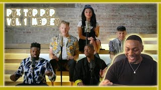 Pentatonix- Top Pop Vol.1 Medley Reaction!!!