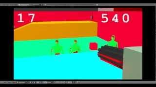 Видео из игры Zombie apocalypse моя разработка.(Игра только в разработке, в видео только небольшой отрывок из 1 уровня., 2012-04-01T13:12:03.000Z)