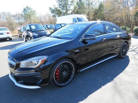 2014 Mercedes-Benz CLA45 AMG 4Matic Start Up, Exhaust, and In Depth Review