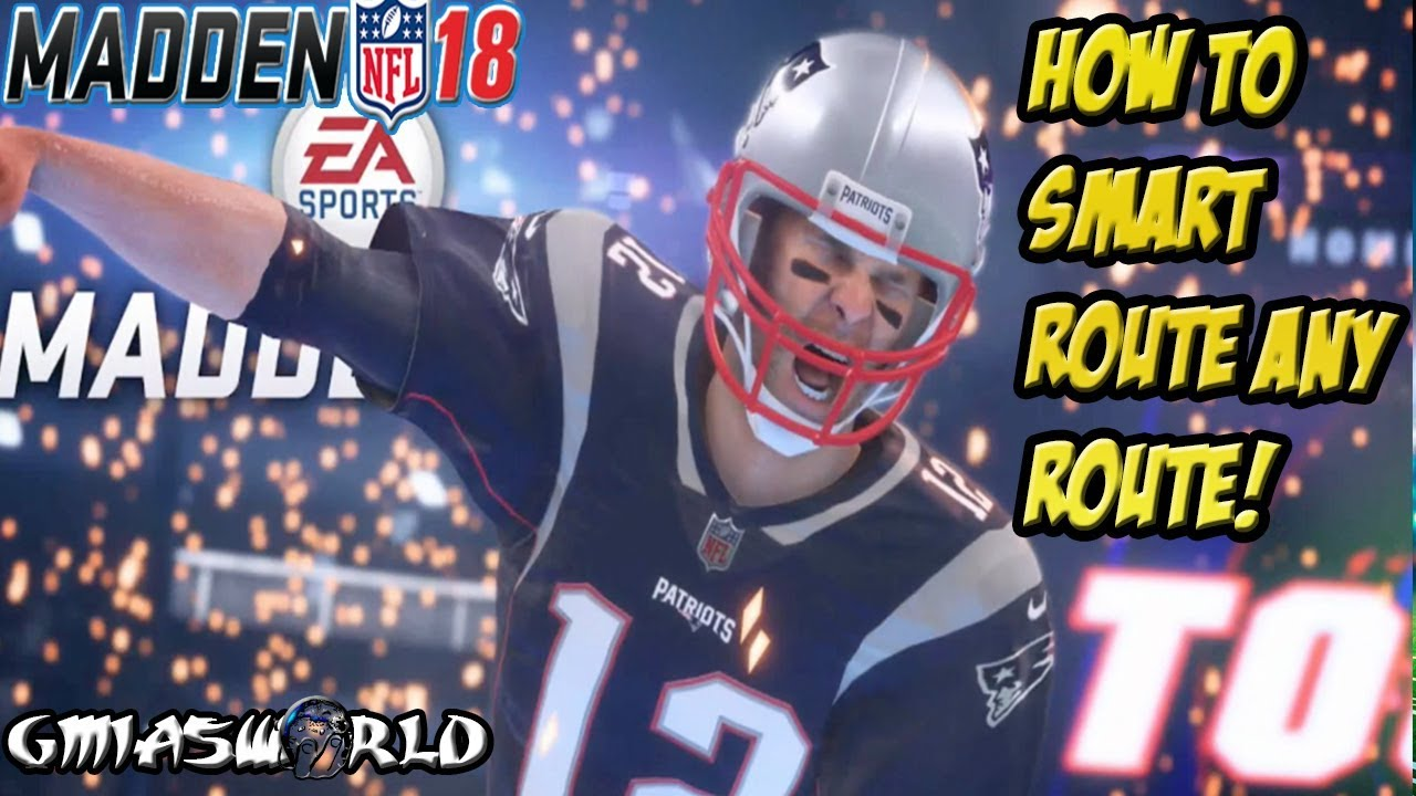 f2ecd114d How To Smart Route Any Play & Get First Downs In Madden 18 Gameplay ...