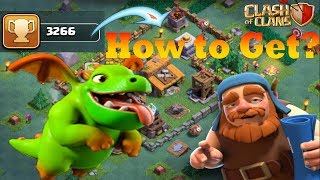 3★★★ BABY DRAGONs Attacks on BH5 Bases || Trophy Pushing with BH5 Max Baby Dragon || Clash of Clans