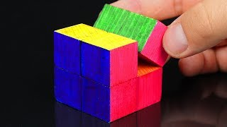 How to Make an Easy INFINITY CUBE!