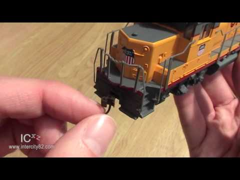 Opening the EMD GP40 in Union Pacific