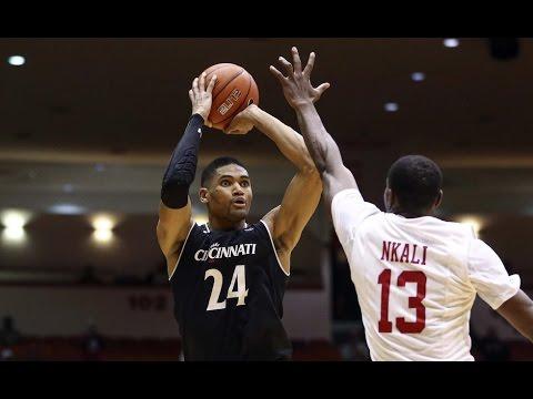Men's Basketball Highlights – #22 Cincinnati 55, ECU 46
