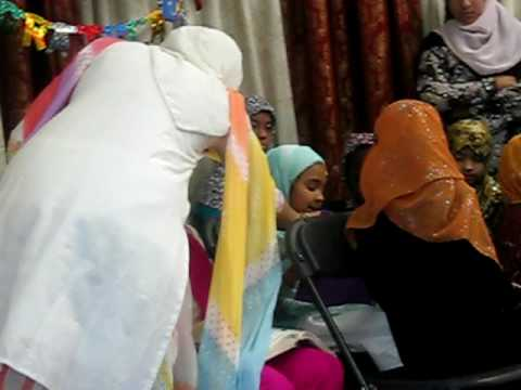 Sanaa's quran graduation