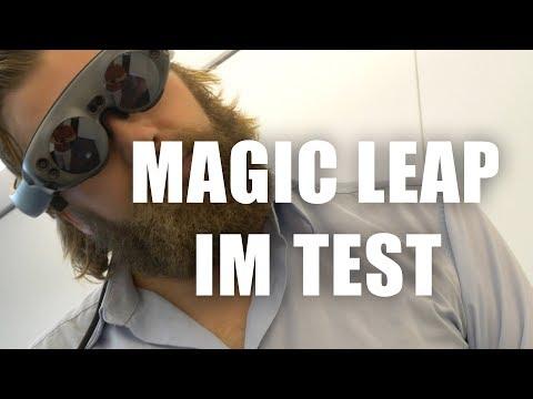 Ist das die Zukunft?! Magic Leap im Test!