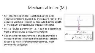 Acoustic Output Measurement Process for Diagnostic Ultrasound Systems YouTube Videos