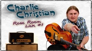 Charlie Christian - Guitar Lesson Lick #1 - Jazz Lessons - Michael Bacarella - GuitarBreakdown