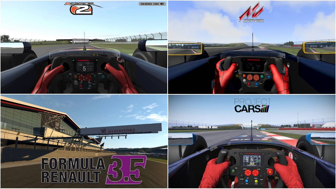 Project Cars Vs Rfactor  Physics