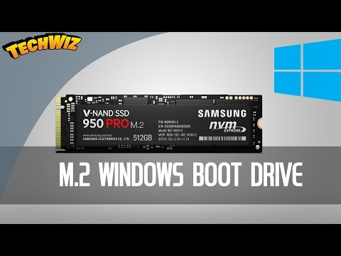 How To Make a Samsung 950 Pro NGFF NVMe M 2 Drive Bootable on an