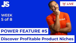 Discover Profitable Product Niches | Jungle Scout - Power Feature Series | Week 5 of 8