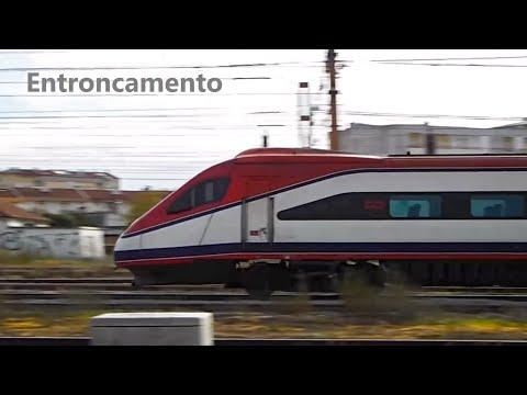 Comboios no Entroncamento