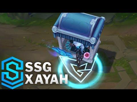 SSG Xayah Skin Spotlight - League of Legends