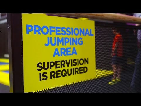 Freejumping At Acton's Trampoline Park
