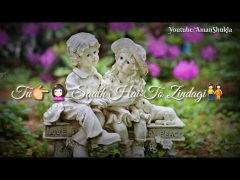 Humdard Hai Humdam Bhi..😍(Female version) Sad Romantic song Whatsapp Status Video 