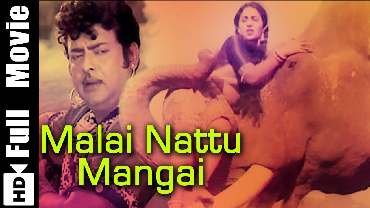 Poojaikku Vandamalar Tamil Full Movie Gemini Ganesan: Malai Nattu Mangai Tamil Full Movie : Gemini Ganesan