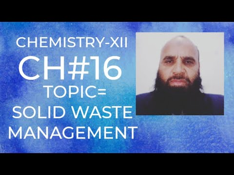 Solid waste management, Land fill, Leachate &its composition, incineration of industrial hazardous w