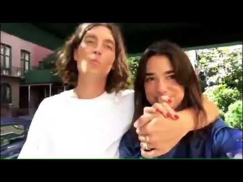 Dua Lipa with Her Boyfriend Paul Klein in NYC