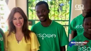 O mana de ajutor pentru copiii din Haiti