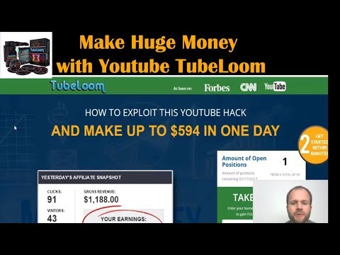 How to Make Money with Youtube - Tubeloom Honest Review