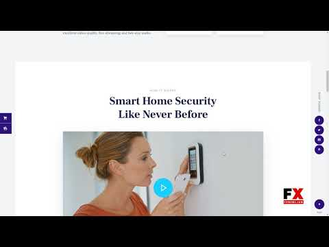 Smart Casa Home Automation amp Technologies WordPress Theme  Naiche W thumbnail
