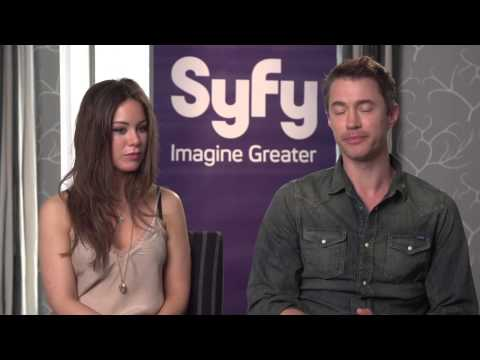 Roxanne McKee and Tom Wisdom - Dominion Interview
