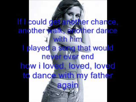 esmee denters  dance with my father again