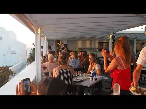 NEPTUNE bar restaurant,oia,Santorini.THE BEST RESTAURANT. FRESH FISH, FRESH MEAT.
