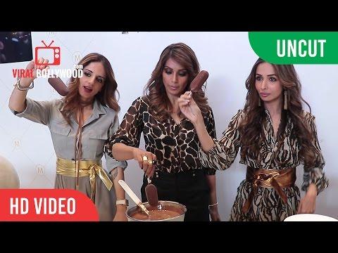UNCUT - Malaika Arora, Bipasha Basu and Sussanne Khan MAGNUM X THELABELLIFE.COM Launch