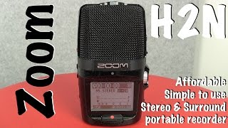 ZOOM H2N - Portable, affordable AND Surround Sound recording at your fingertips!
