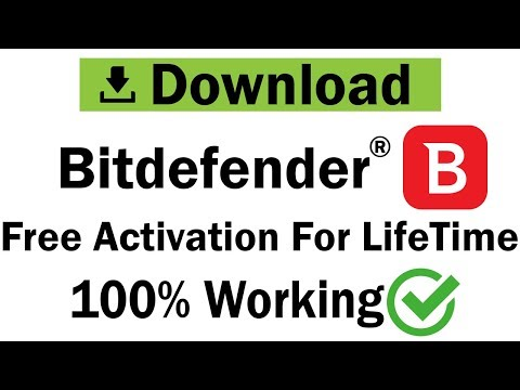 Bitdefender Download & Activation For Lifetime | PC Antivirus 2019