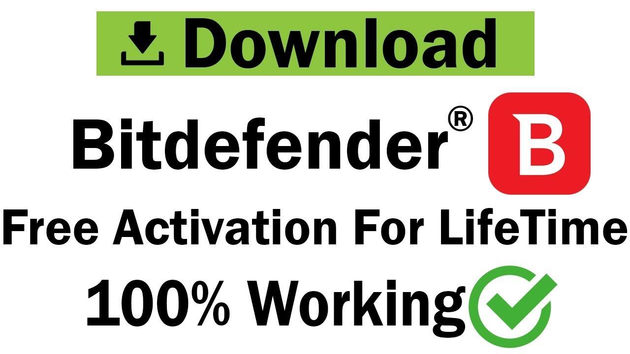 Bitdefender Download & Activation For Lifetime | Free Anti-virus