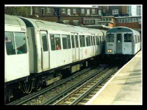 London Underground tube trains in the mid-1980s (audio)