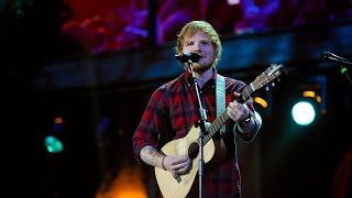 Ed Sheeran Sing At BBC Music Awards 2014