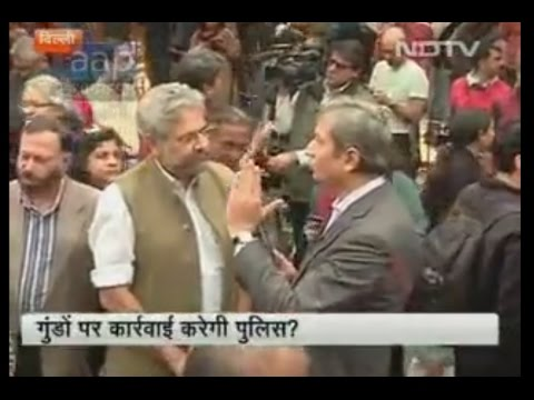 NDTV Ravish Kumar Prime time..why Attack on Media ? Delhi police did nothing