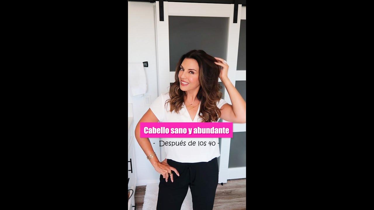 CABELLO SANO Y ABUNDANTE DESPUÉS DE LOS 40 AÑOS #shorts