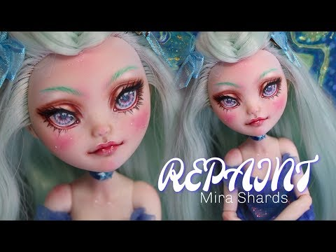 REPAINT! Old Doll New Face?! Custom OOAK Doll Ever After High Mira Shards • JackyOhhh