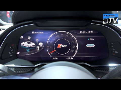 2016 Audi R8 V10 (540hp) - First CHECK (1080p) - YouTube