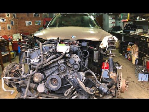 Как задний привод превратить в полный. BMW е60. Решала 12.